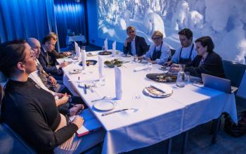 Immersive dinner experience by The Box at Hotel Kämp