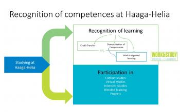 Recognition of competences - 	illustration